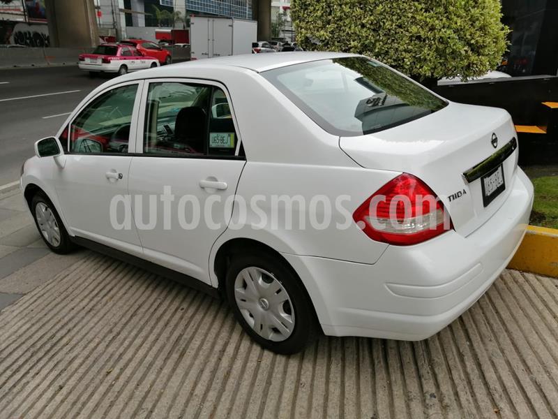Nissan Tiida Sedan Sense usado (2015) color Blanco precio $120,000