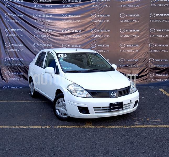 Nissan Tiida Sedan Sense usado (2015) color Blanco precio $115,000