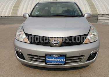 Nissan Tiida Sedan Sense usado (2015) color Plata precio $119,000