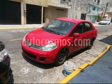 Nissan Tiida Sedan Custom usado (2009) color Rojo precio $58,000