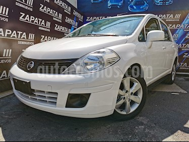 Nissan Tiida Sedan Sense usado (2011) color Blanco precio $110,000