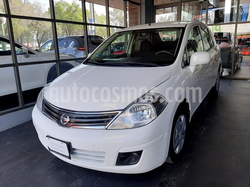 Nissan Tiida Sedan Sense Aut usado (2015) color Blanco precio $122,000