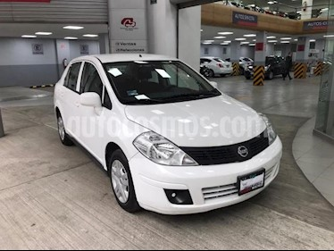 Nissan Tiida Sedan 4P SEDAN SENSE L4/1.8 MAN usado (2015) color Blanco precio $115,000