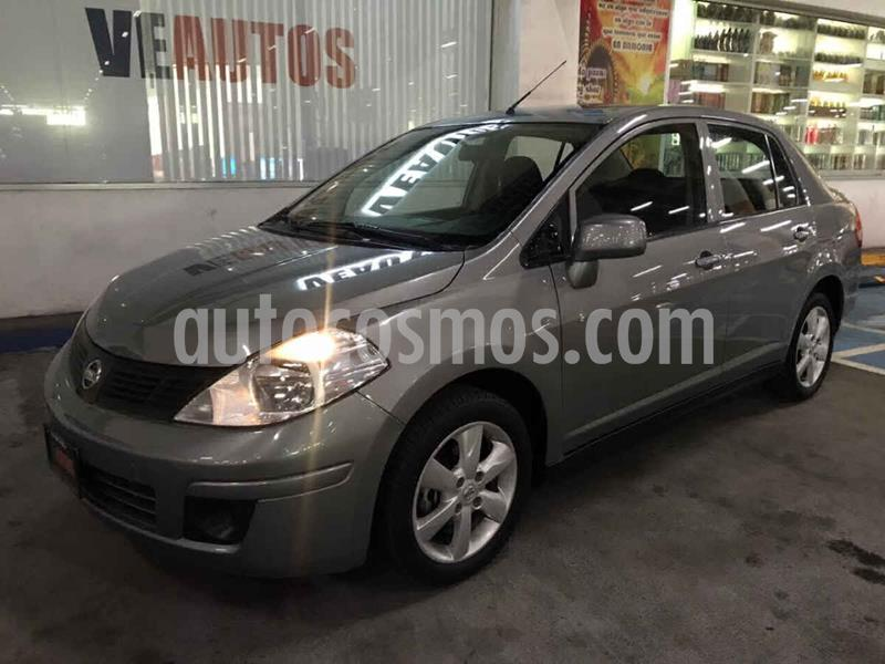 Nissan Tiida Sedan Advance Aut  usado (2015) color Gris precio $132,000
