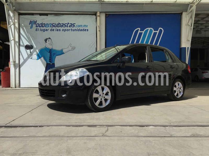 Nissan Tiida Sedan Advance Aut  usado (2016) color Negro precio $80,000