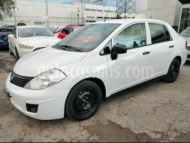 Nissan Tiida Sedan DRIVE TM AC usado (2016) color Blanco precio $115,000