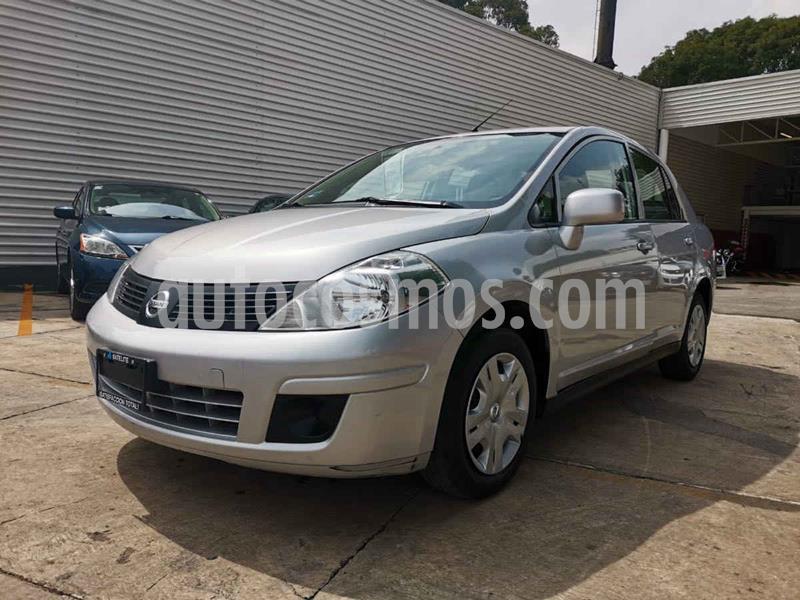 Nissan Tiida Sedan Sense usado (2016) color Plata precio $130,000