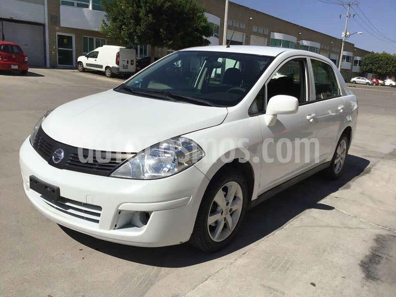 Nissan Tiida Sedan Advance Aut  usado (2016) color Blanco precio $82,000