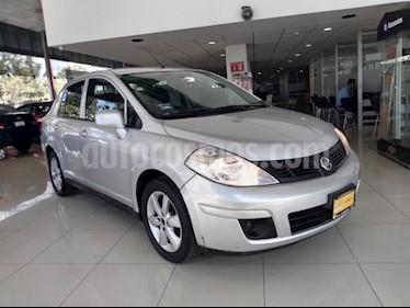 Nissan Tiida Sedan 4P SEDAN ADVANCE L4/1.8 AUT usado (2015) color Plata precio $110,000