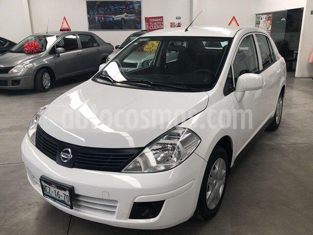 Nissan Tiida Sedan Sense usado (2018) color Blanco precio $159,000