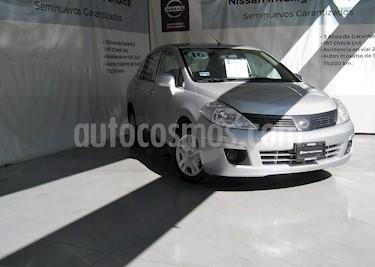 Nissan Tiida Sedan Sense Aut usado (2016) color Plata precio $135,000
