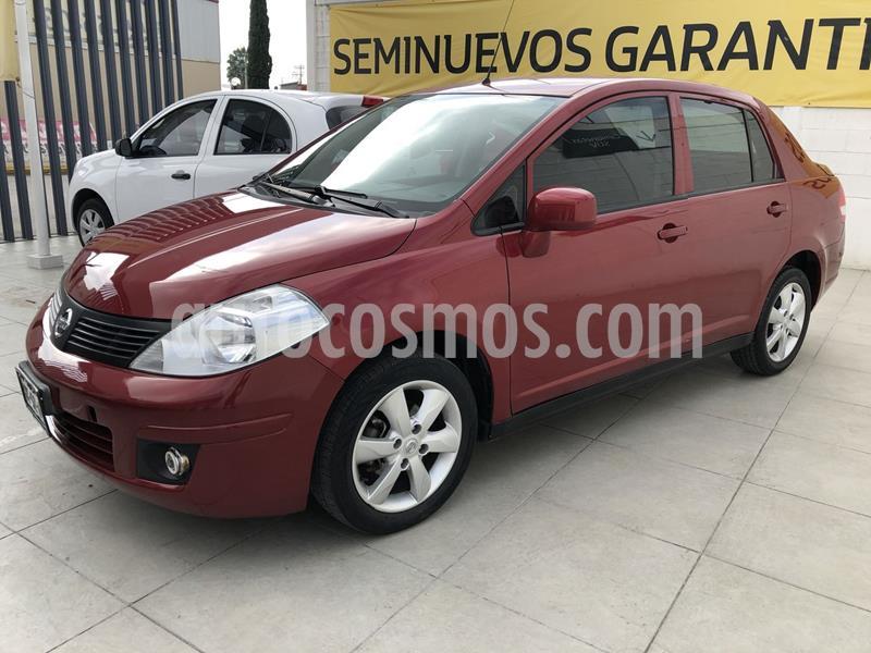 Nissan Tiida Sedan Advance usado (2018) color Rojo precio $158,000