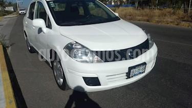 Nissan Tiida Sedan 4P SEDAN DRIVE L4/1.6 MAN usado (2015) color Blanco precio $115,000