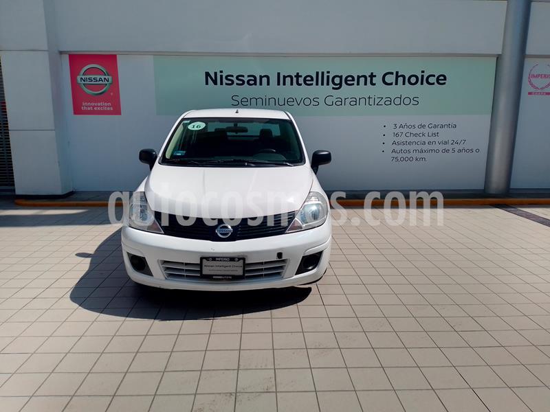 Nissan Tiida Sedan Drive usado (2016) color Blanco precio $129,900