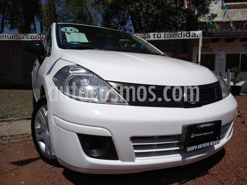 Nissan Tiida Sedan Drive usado (2018) color Blanco precio $145,000