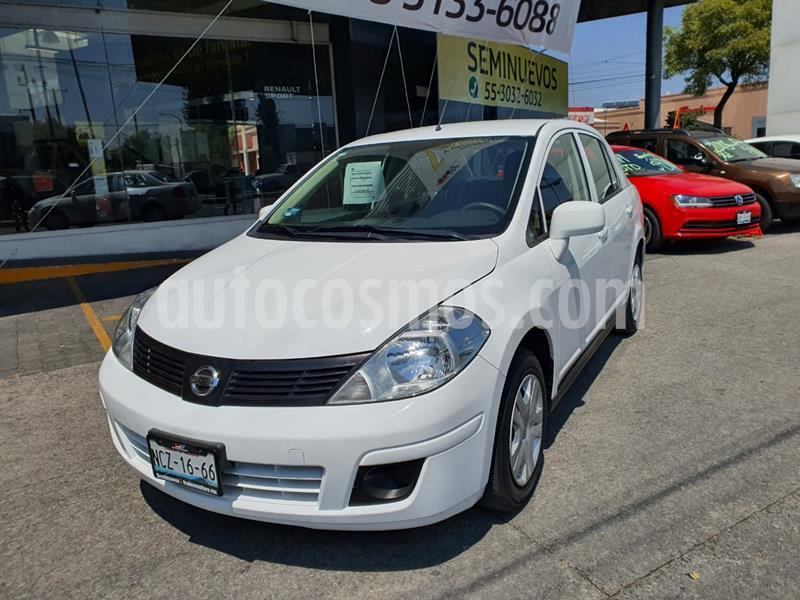 Nissan Tiida Sedan Sense usado (2018) color Blanco precio $160,000