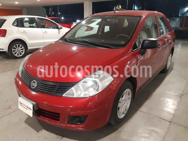 Nissan Tiida Sedan Drive usado (2015) color Rojo precio $125,500