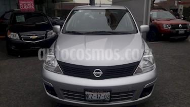 Nissan Tiida Sedan Sense usado (2018) color Plata precio $160,000
