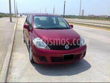 Nissan Tiida Sedan Advance Aut  usado (2013) color Rojo precio $72,900