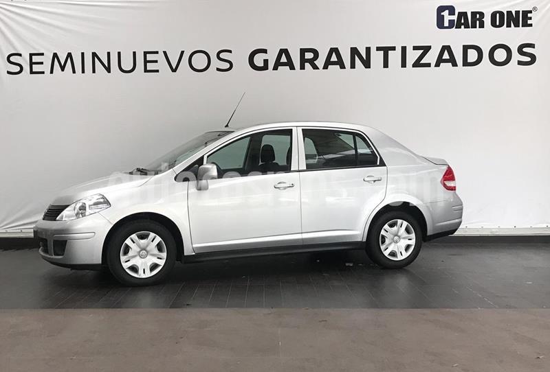 Nissan Tiida Sedan Sense Aut usado (2018) color Plata precio $149,900