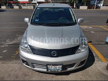 Nissan Tiida Sedan Sense Aut usado (2018) color Plata precio $165,000