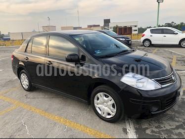 Nissan Tiida Sedan Comfort Ac usado (2012) color Negro precio $93,000