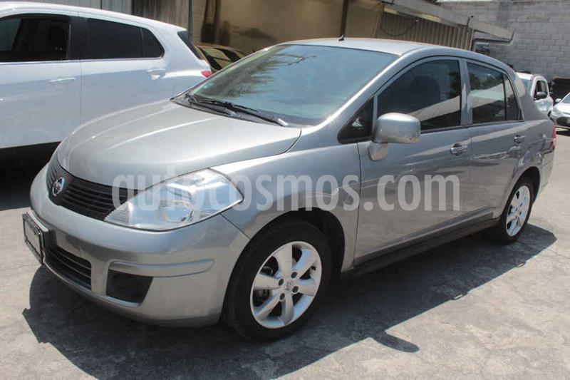 Nissan Tiida Sedan Advance Aut  usado (2016) color Gris precio $145,000