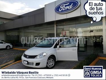 Nissan Tiida Sedan SENSE TM usado (2017) color Blanco precio $127,000