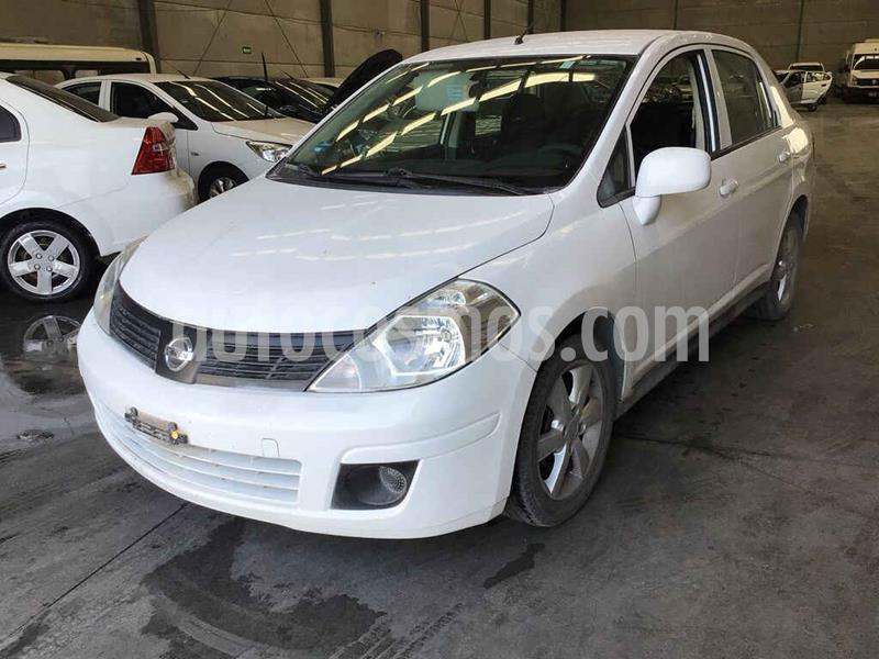Nissan Tiida Sedan Advance Aut  usado (2017) color Blanco precio $92,000