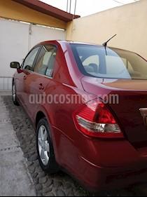 Nissan Tiida Sedan Emotion usado (2011) color Rojo precio $105,000