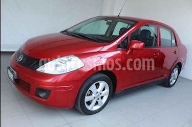 Nissan Tiida Sedan Advance Aut  usado (2013) color Rojo precio $119,000