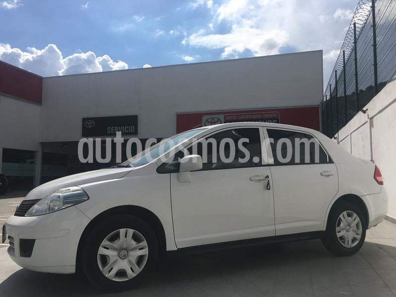Nissan Tiida Sedan Sense usado (2018) color Blanco precio $155,000