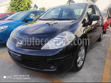 Nissan Tiida Sedan Advance usado (2017) color Negro precio $155,000