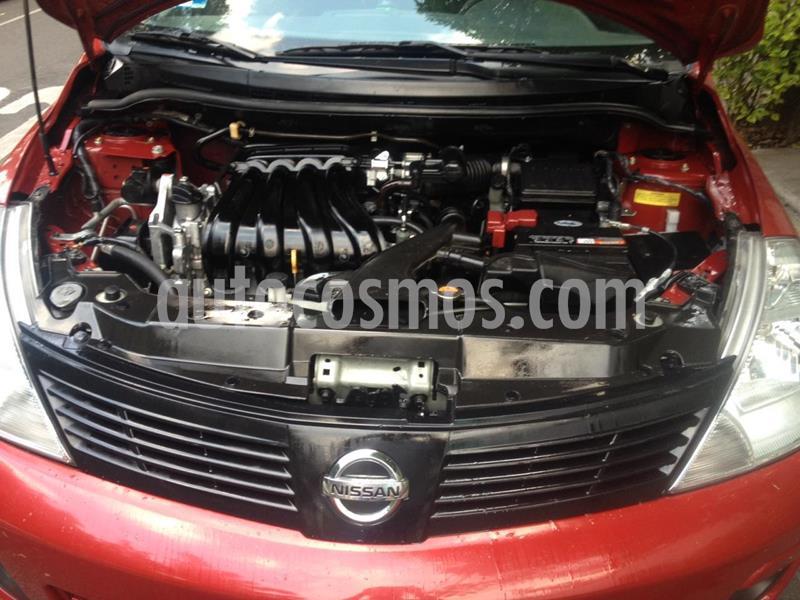 Nissan Tiida Sedan Sense usado (2017) color Rojo precio $115,000