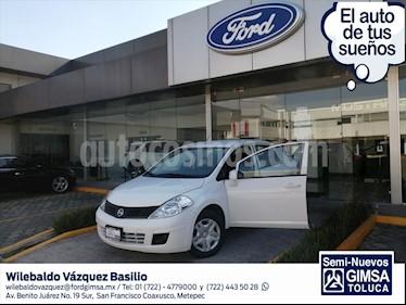 Nissan Tiida Sedan SENSE TM usado (2018) color Blanco precio $146,000