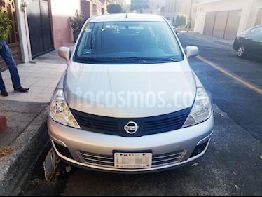 Nissan Tiida Sedan Sense usado (2017) color Plata precio $115,000