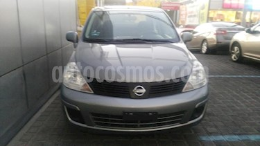 Nissan Tiida Sedan 4P SEDAN CUSTOM AUT A/A CD usado (2007) color Gris precio $140,000