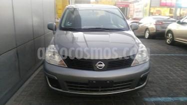 Nissan Tiida Sedan 4P SEDAN CUSTOM AUT A/A CD usado (2007) color Gris precio $140,000
