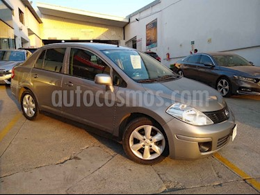 Nissan Tiida Sedan Advance usado (2016) color Plata precio $145,000