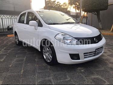 Nissan Tiida Sedan Sense usado (2017) color Blanco precio $145,000