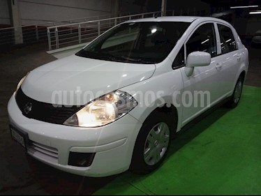 Nissan Tiida Sedan Advance usado (2015) color Blanco precio $139,000