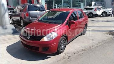 Nissan Tiida Sedan Sense Aut usado (2015) color Rojo precio $124,000