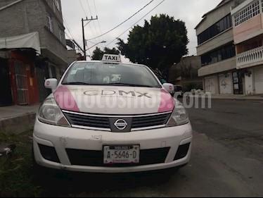 Nissan Tiida Sedan Custom usado (2009) color Blanco precio $55,000
