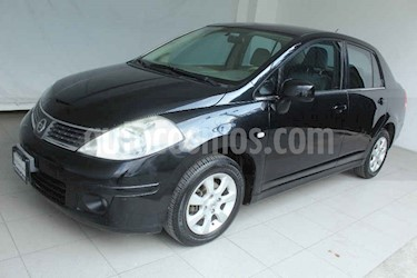 Nissan Tiida Sedan Emotion usado (2008) color Negro precio $85,000