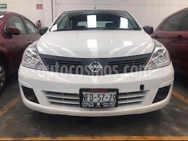 Foto Nissan Tiida Sedan 4P DRIVE 1.6L AT A/AC. CD R-15 usado (2016) color Blanco precio $149,000