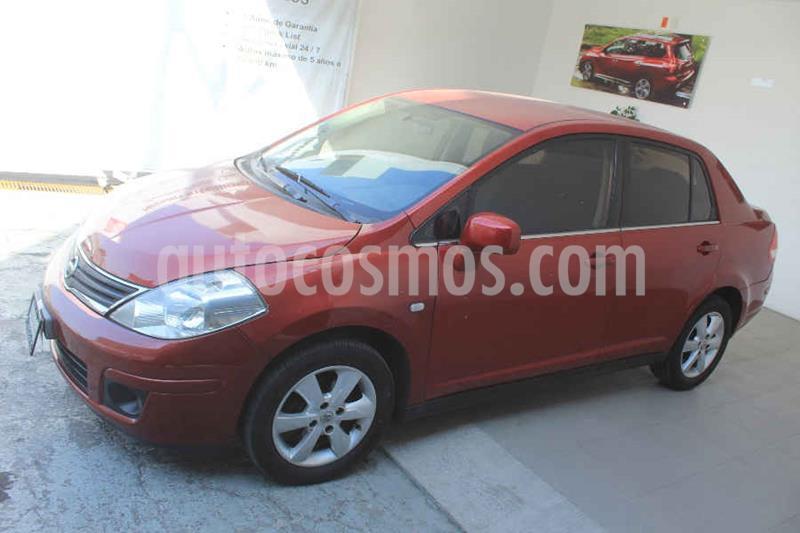 Nissan Tiida Sedan Emotion Aut usado (2010) color Rojo precio $97,000