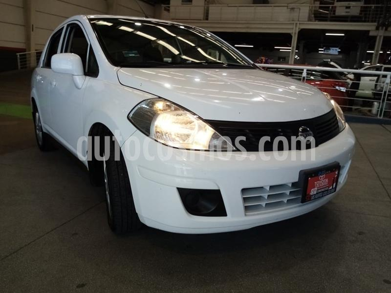 Nissan Tiida Sedan Advance Aut usado (2016) color Blanco precio $149,000