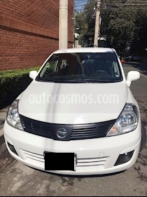 Nissan Tiida Sedan Emotion Aut usado (2008) color Blanco precio $75,000