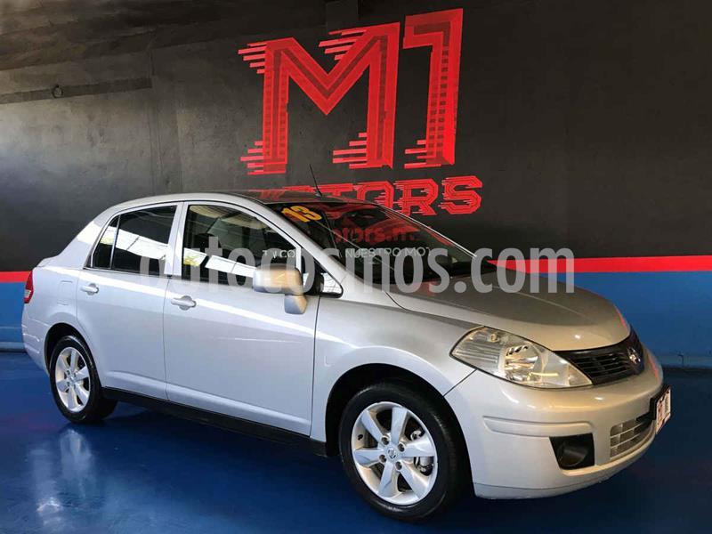 Nissan Tiida Sedan Advance Aut  usado (2013) color Plata precio $119,500