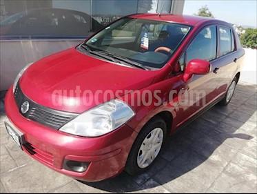 Nissan Tiida Sedan SENSE TM usado (2016) color Rojo precio $129,000